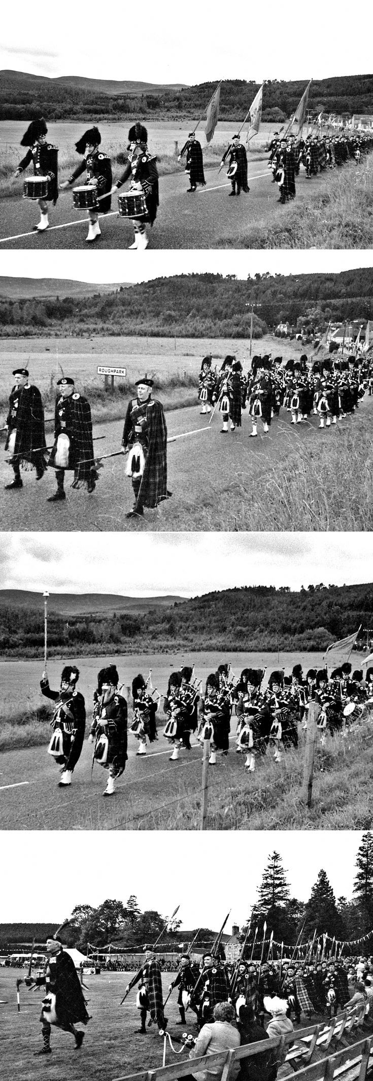 22 Lonach Marchers c1980