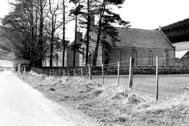 39 free Church and manse Glenbuchat c 1980