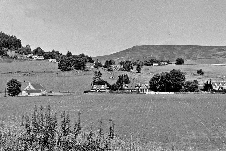 42 Craigton and Belnacraig hill Glenbuchat c1980