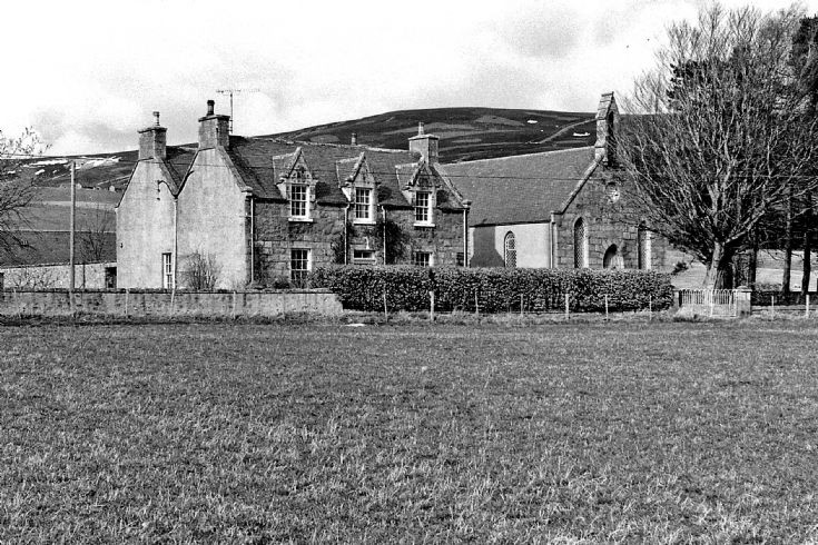 45 Glenbuchat Free Church and Manse c 1980