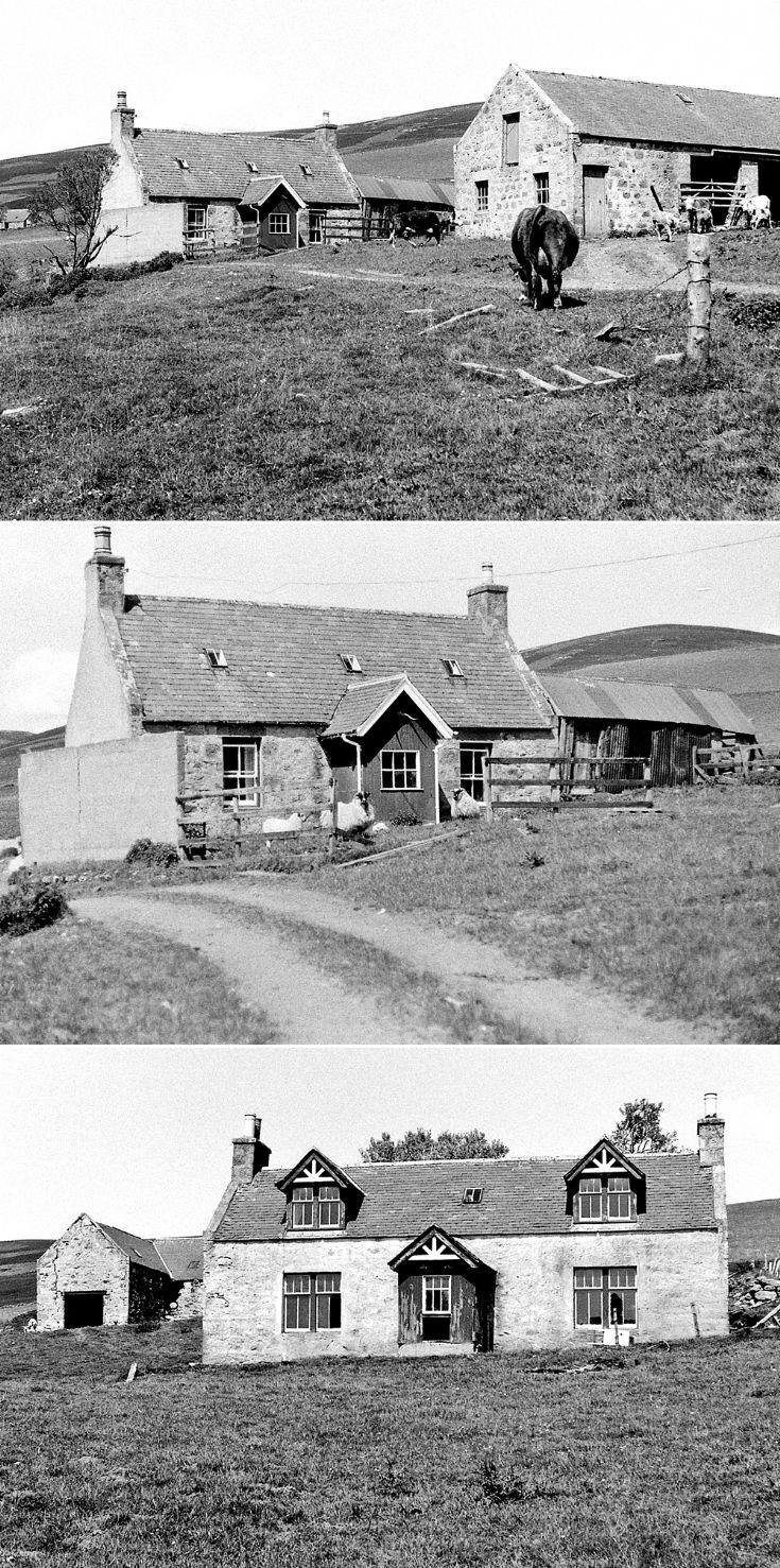 55 Ballochduie & Newseat Glenbuchat c 1980