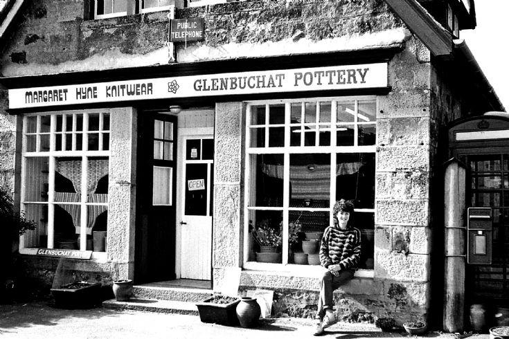61 Old Shop Glenbuchat c 1980