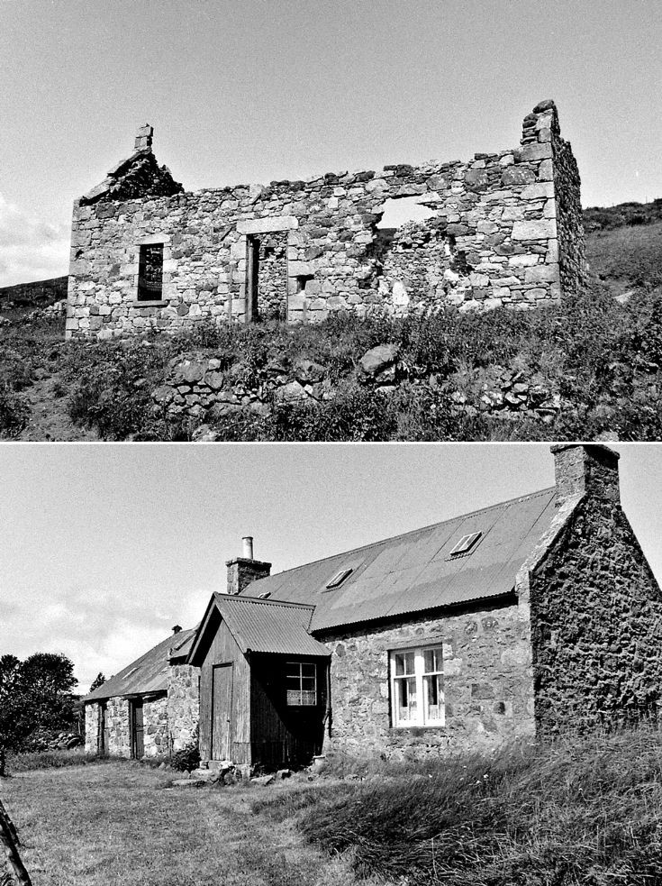 69 Upperton Cottages Glenbuchat c 1980