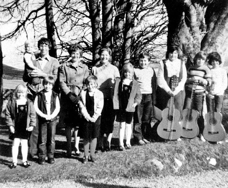 71 Music Class Glenbuchat c 1980