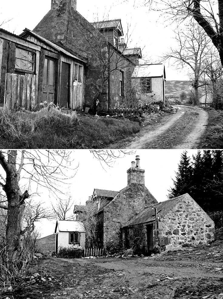 78 Craighead Farm House c 1980