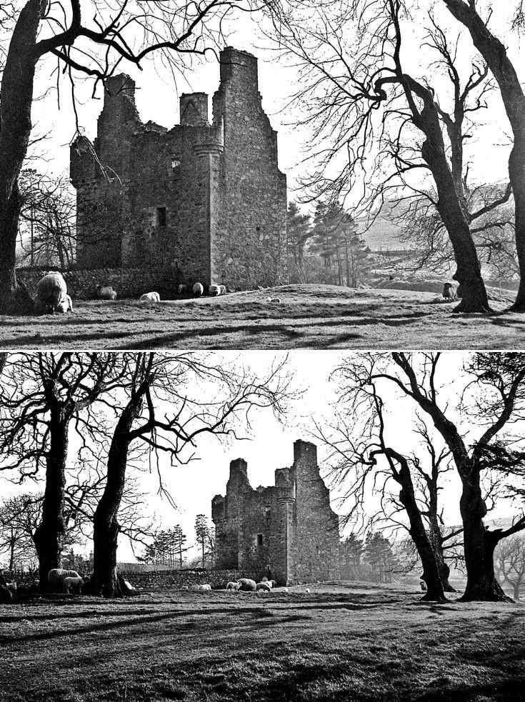 82 Glenbuchat Castle c 1980