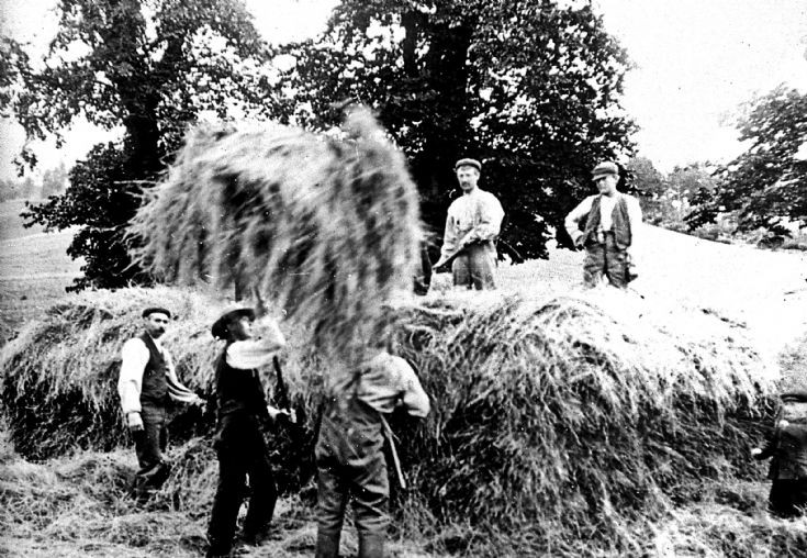 23 Strathdon Slides - Hay making Unidentified