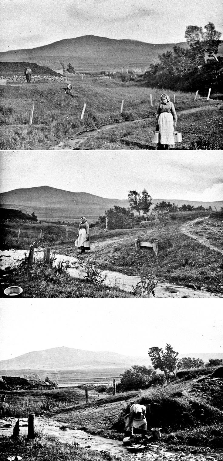 30 Strathdon Slides - Lady fetching water