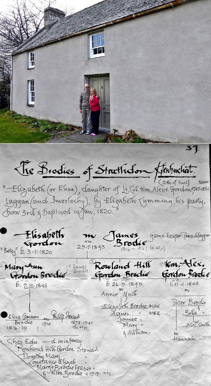 41 Brodie - Stewart Families