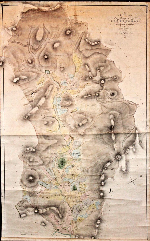 1 Glenbuchat Estate Map 1864