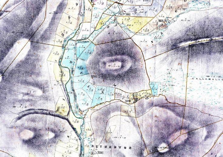 8 Sect 3 Dulax & Ballochduie state Map 1864
