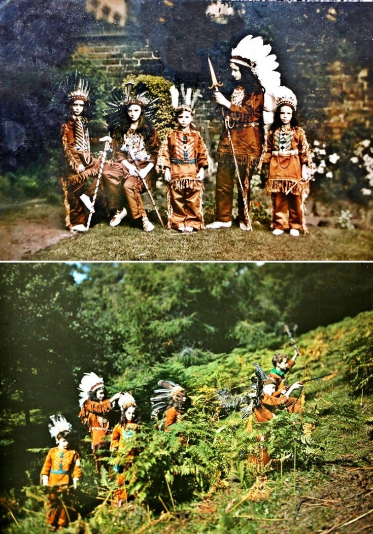 20 Castle Newe 'Red Indians' 2  c 1910