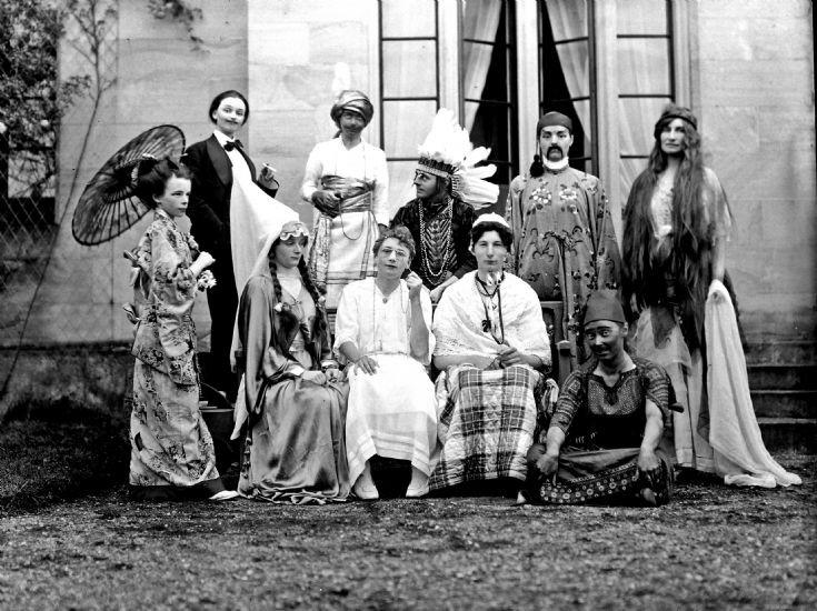 36 Charades at Casle Newe c 1910