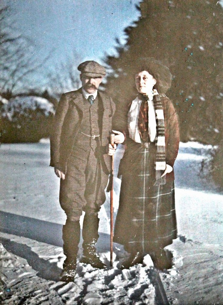 66 Sir Charles and Lady Forbes c 1910