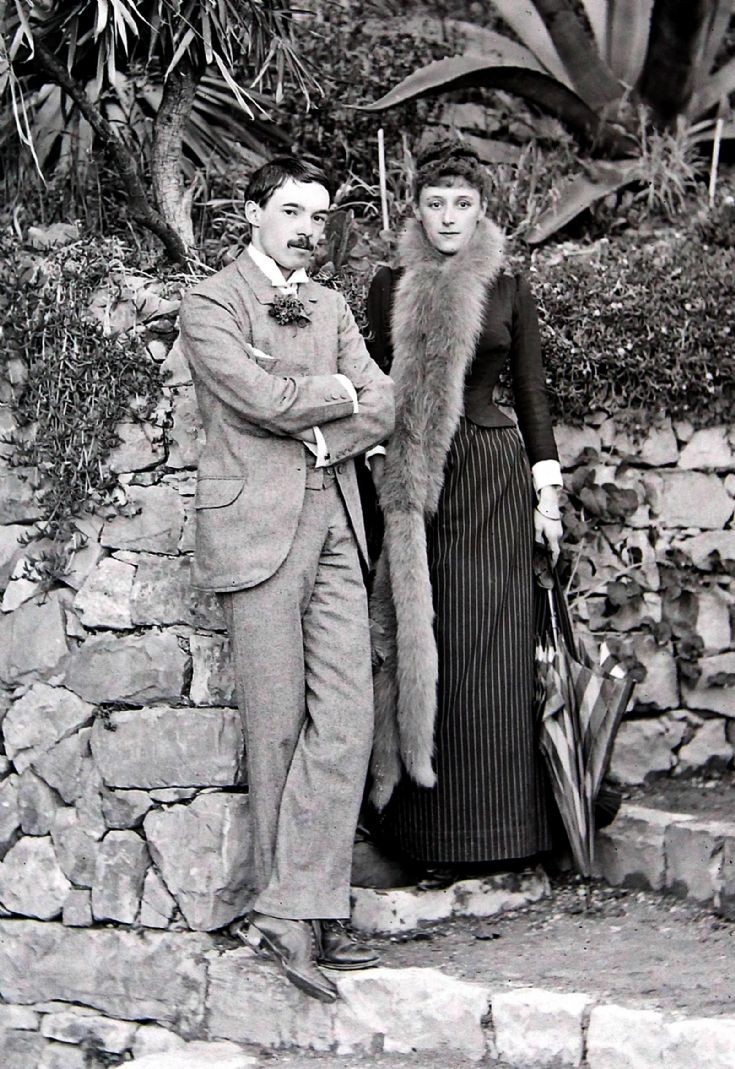 69 Sir Charles and Lady Forbes on honeymoon 1888