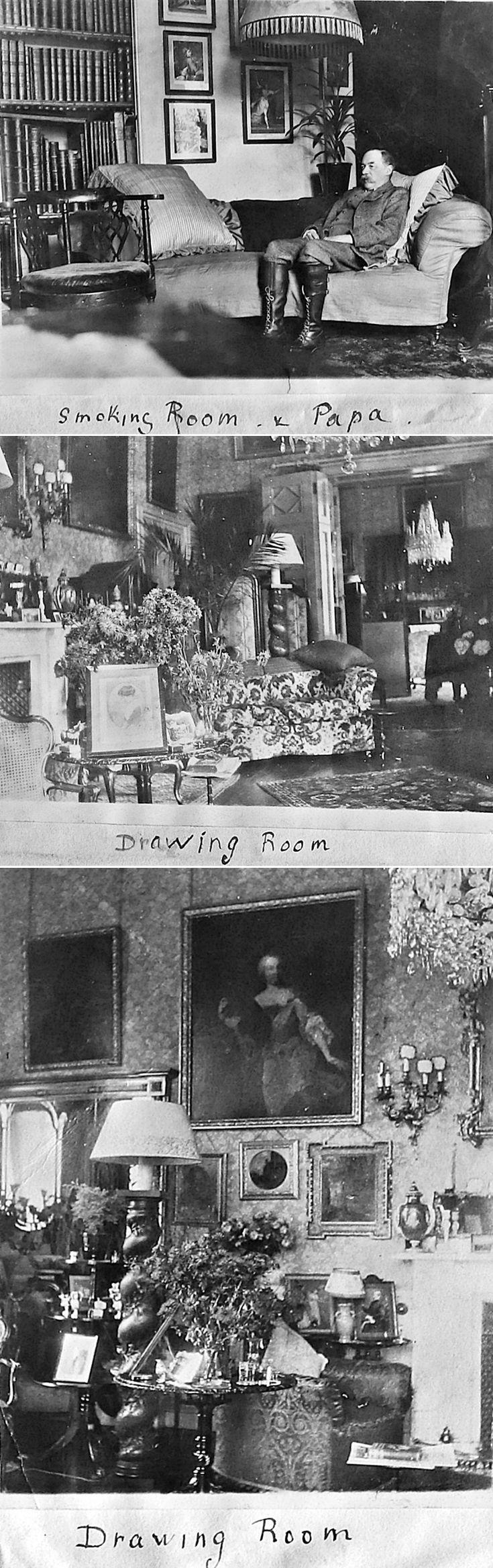 3 Interior Castle Newe c 1910