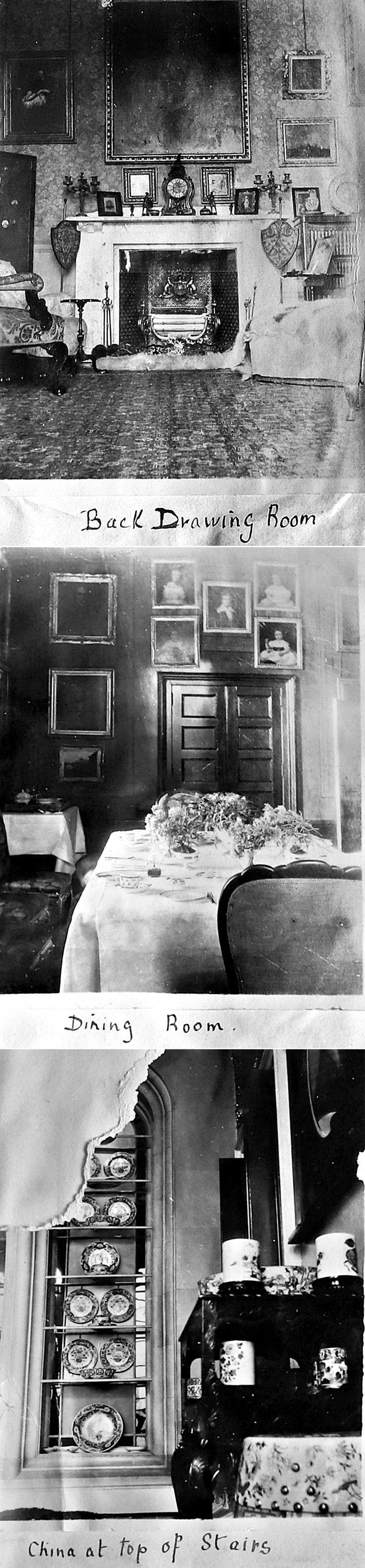 4 Interior Castle Newe c 1910