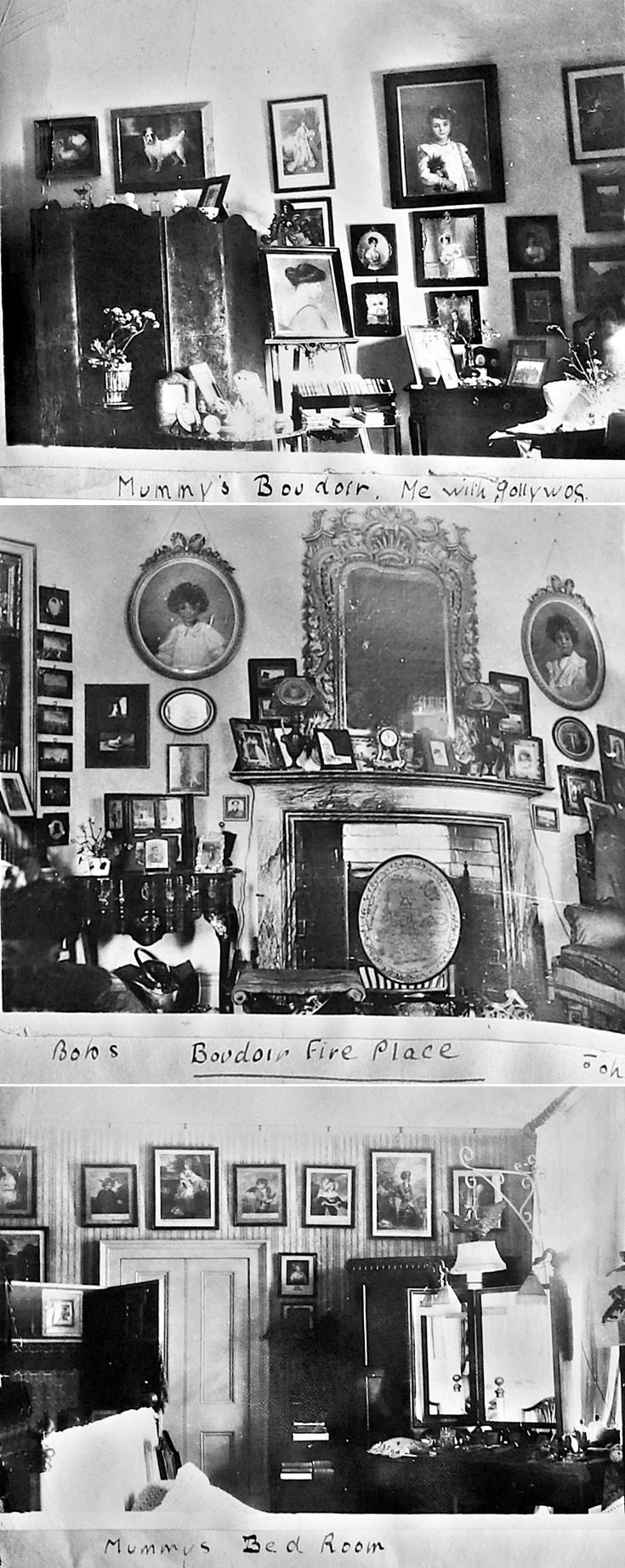 6 Interior Castle Newe c 1910
