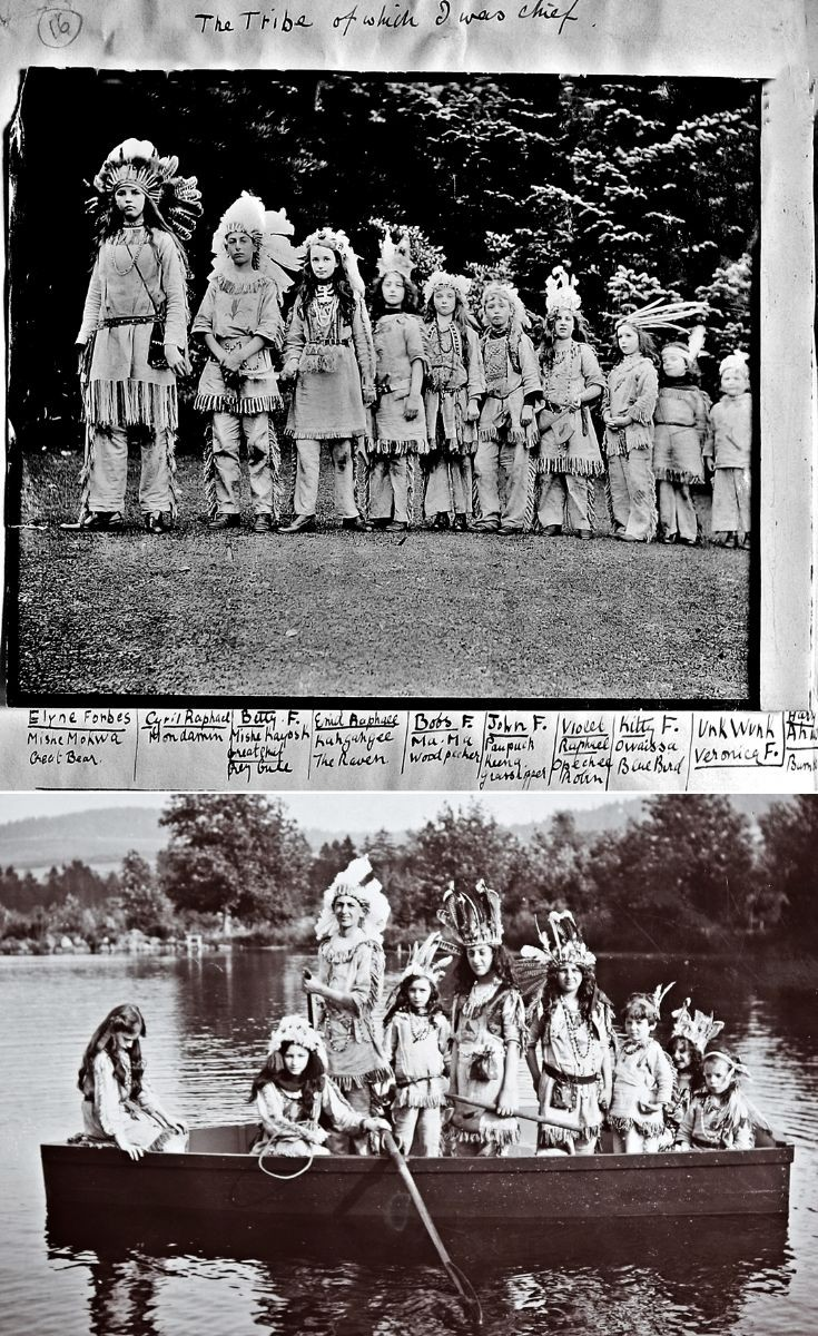 10 Bettine's Indian tribe c 1910