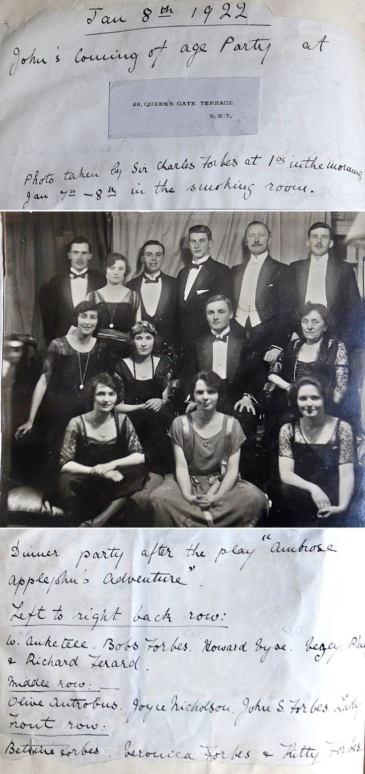 18 Bettine at Brother's Birthday party 1922