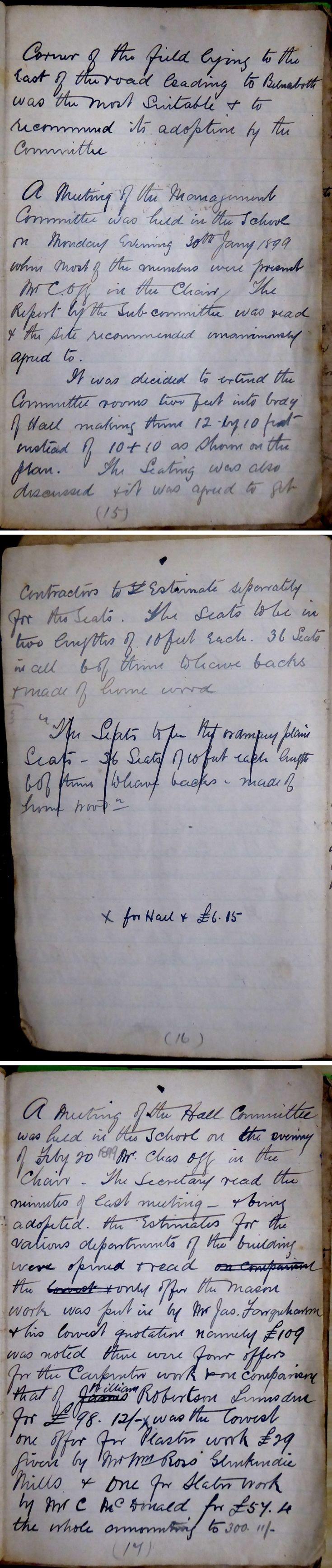 6  Glenbuchat Hall Committee Minutes