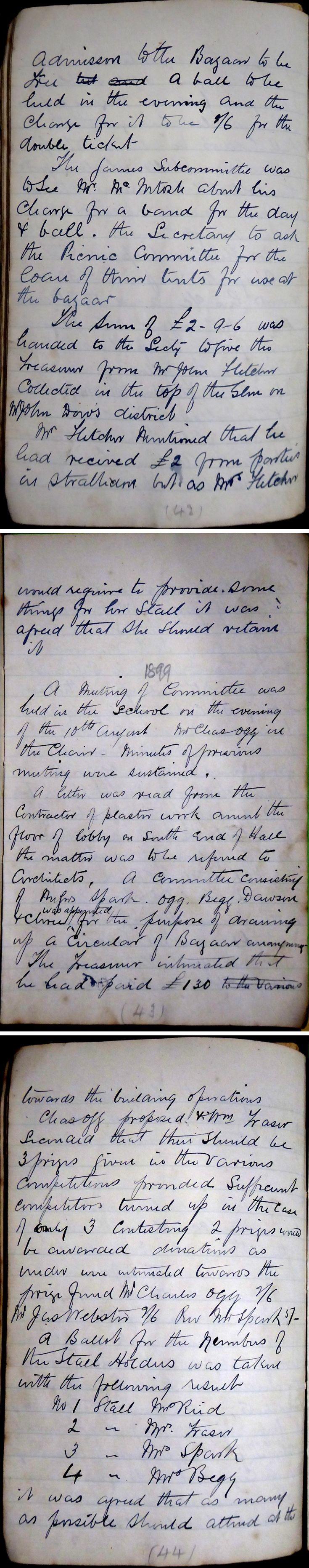 14 Glenbuchat Hall Committee Minutes