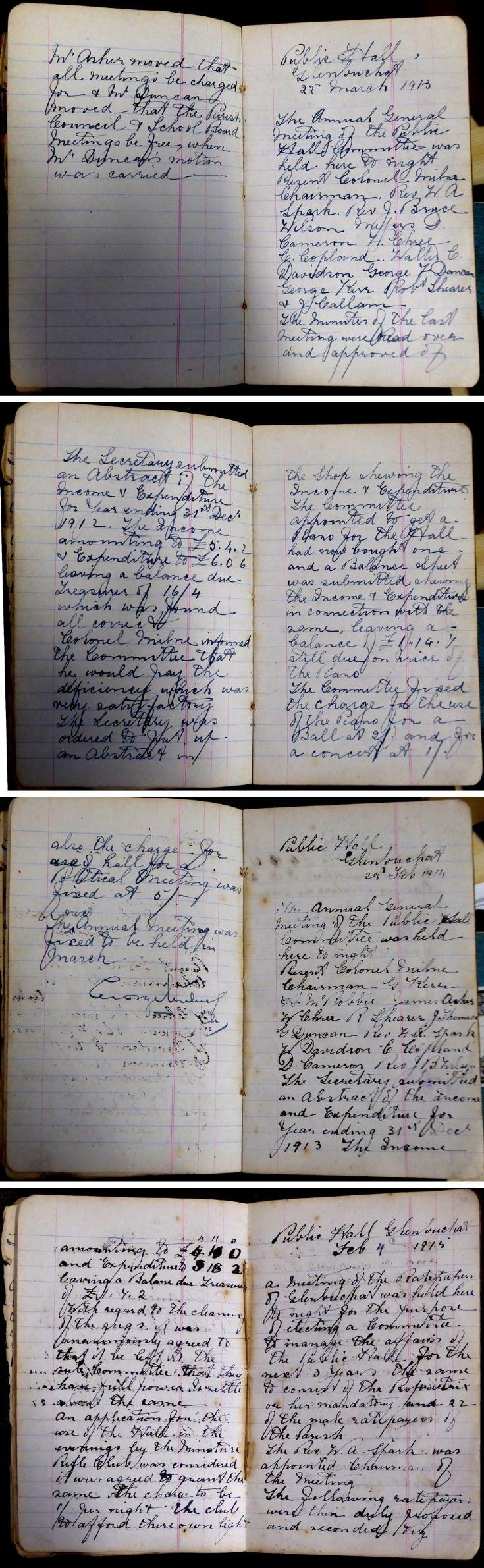 26 Glenbuchat Hall Committee Minutes