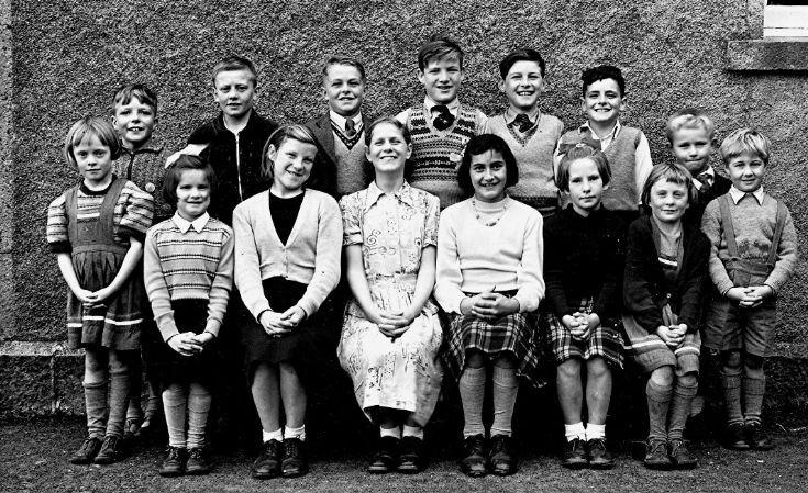 33 Glenbuchat School 1960
