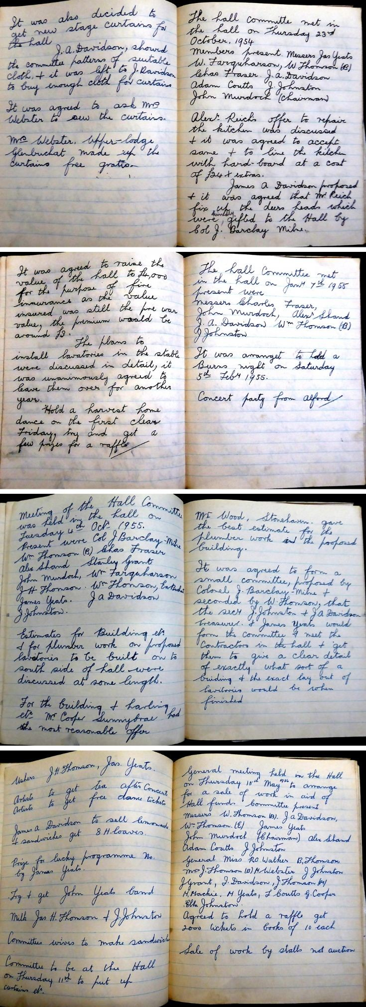 42 Glenbuchat Hall Committee Minutes