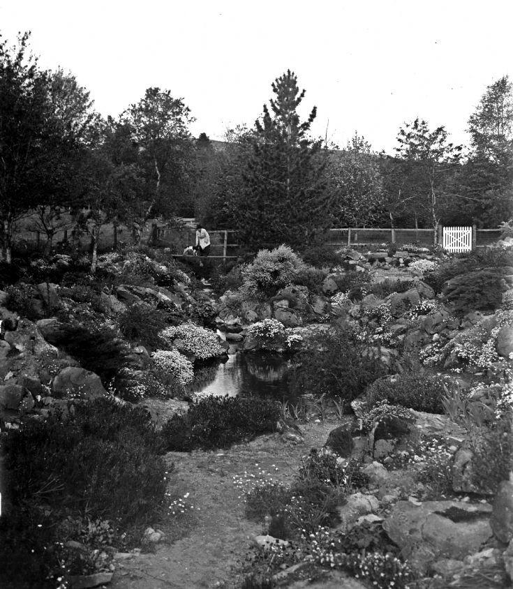 71 Castle Newe garden c 1910