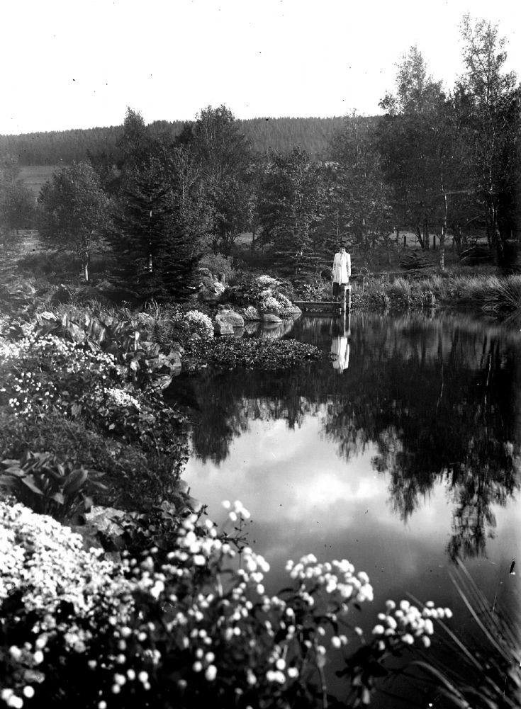 72 Castle Newe garden c 1910