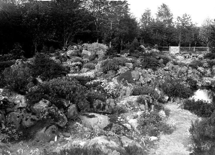 73 Castle Newe garden c 1910