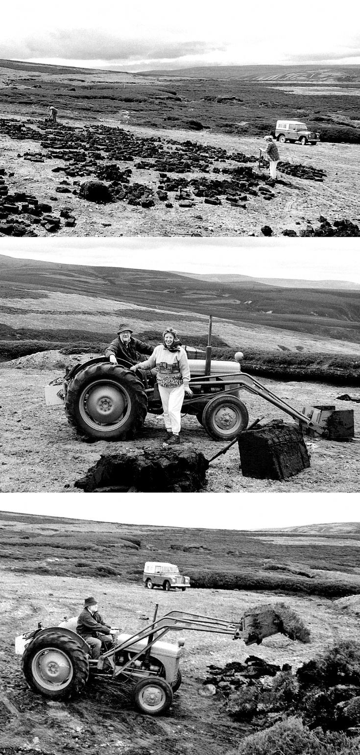 50 Rod and Ros MacGillivary collecting peats 1997