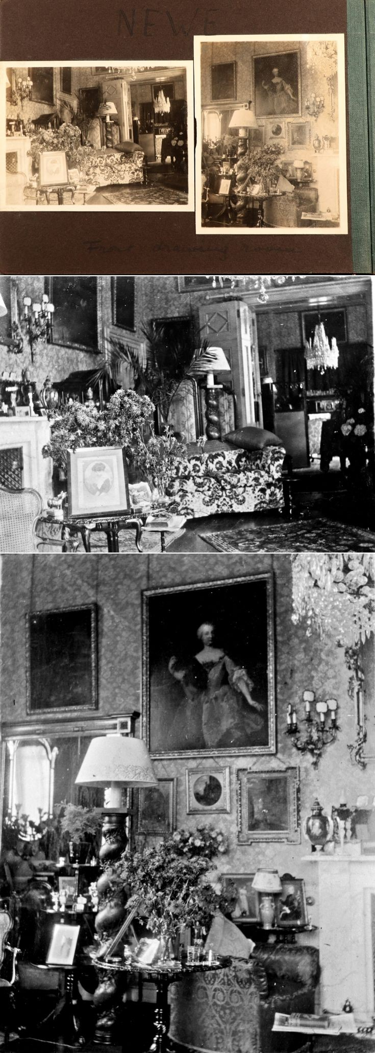 7 Castle Newe Interior c1922
