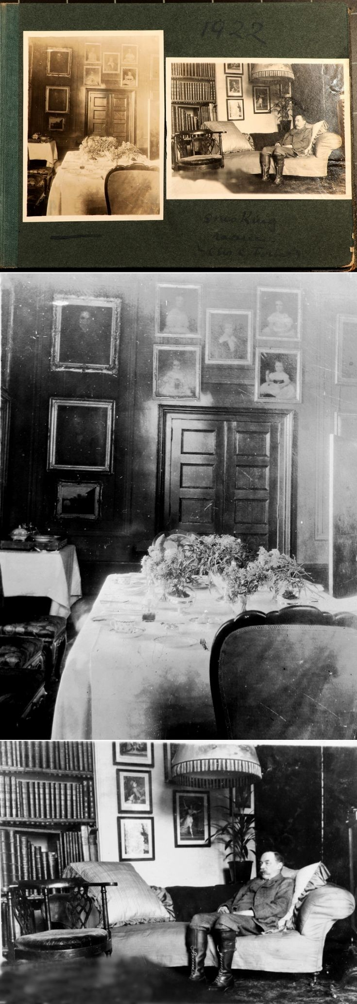 10 Castle Newe Interior c1922