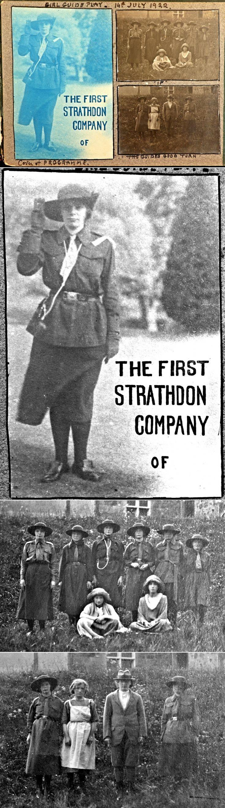 12 Strathdon Girl guides 1922