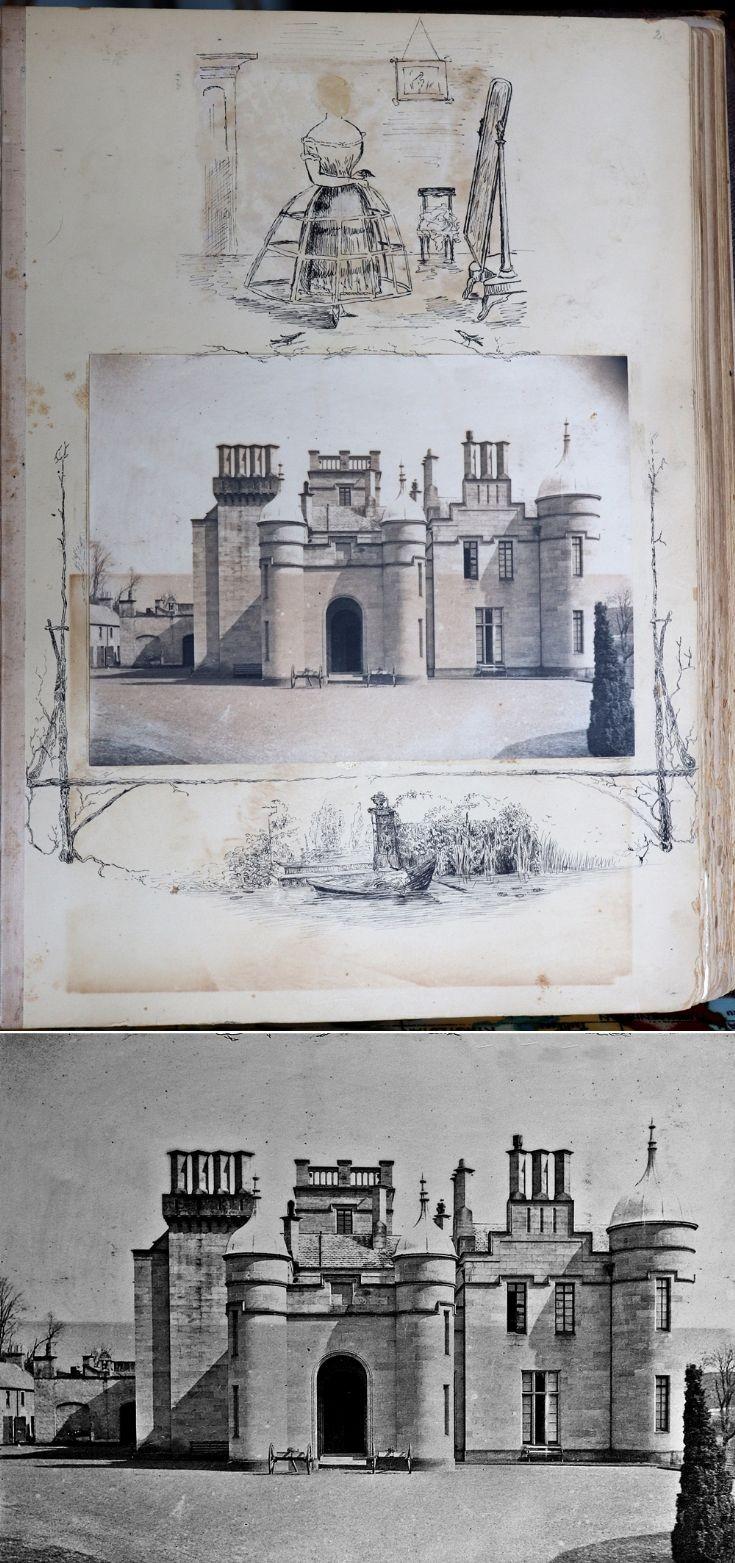 20 Castle Newe Visitors Book