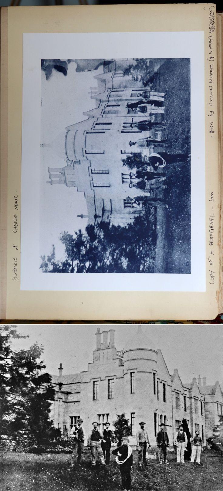 23 Castle Newe Visitors Book c 1890