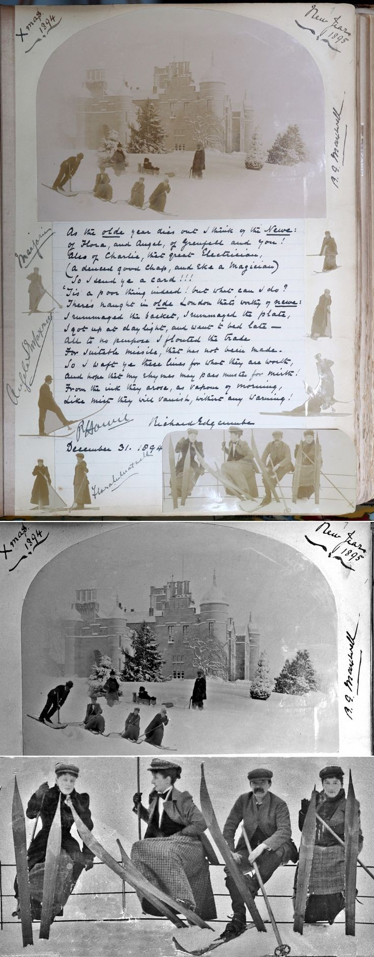29 Castle Newe Visitors Book 1895