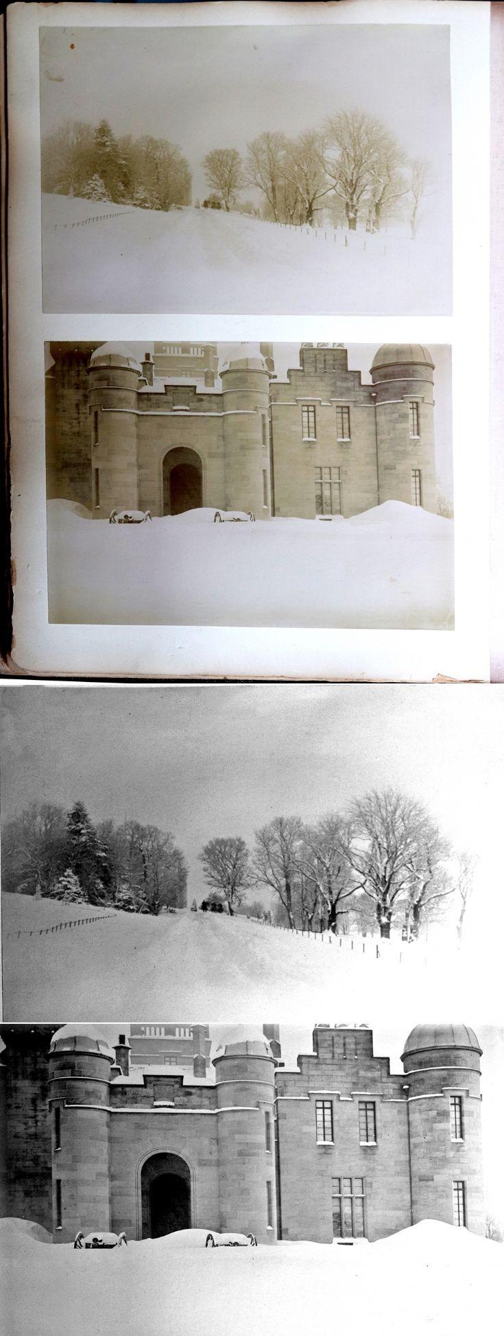 31 Castle Newe Visitors Book 1896