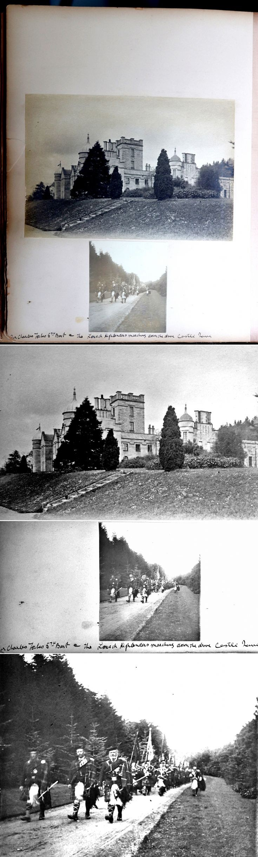 33 Castle Newe Visitors Book 1897