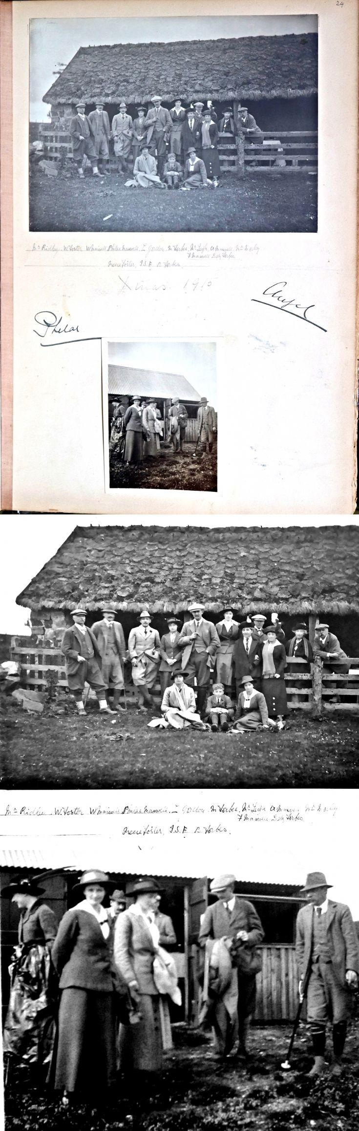 40 Castle Newe Visiors Book 1910