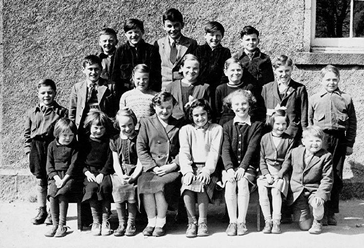 57 Glenbuchat School:Ann Stewart