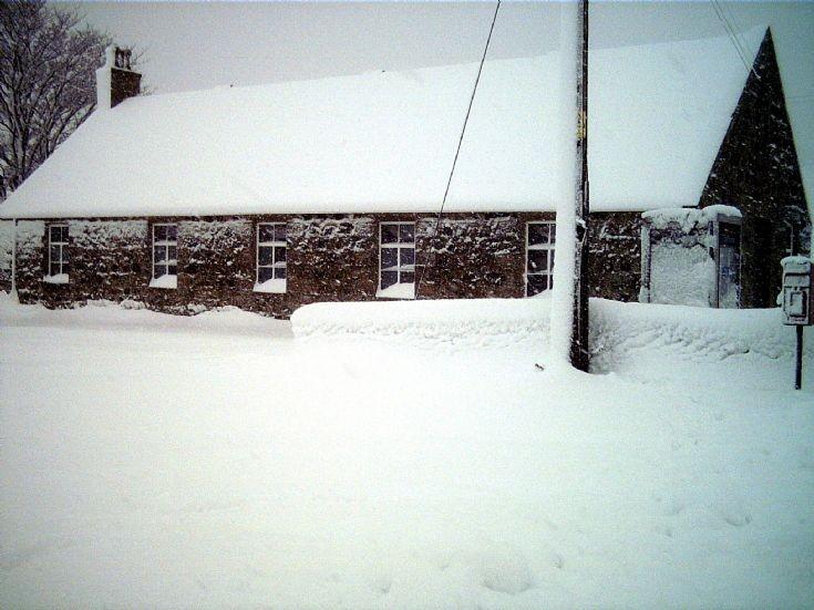136 Glenbucat Hall in Winter
