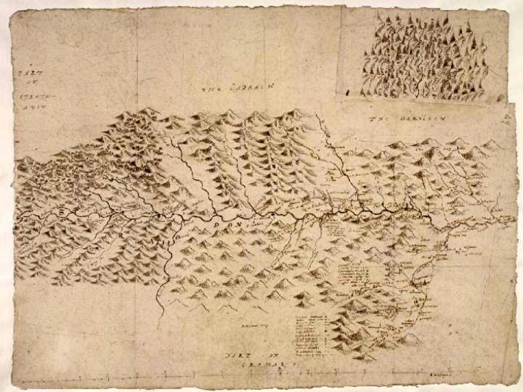 47 Glenbuchat Map Robert Gordon 1636