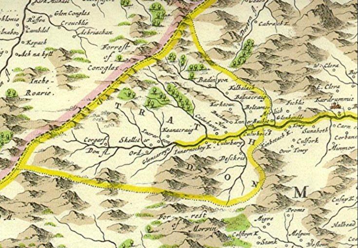 48 Glenbuchat Map 1654