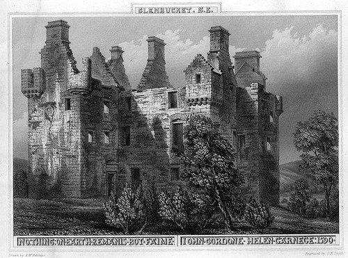 3 Glenbuchat Castle Print