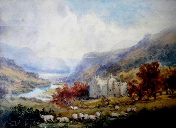 4 Glenbuchat Castle Painting