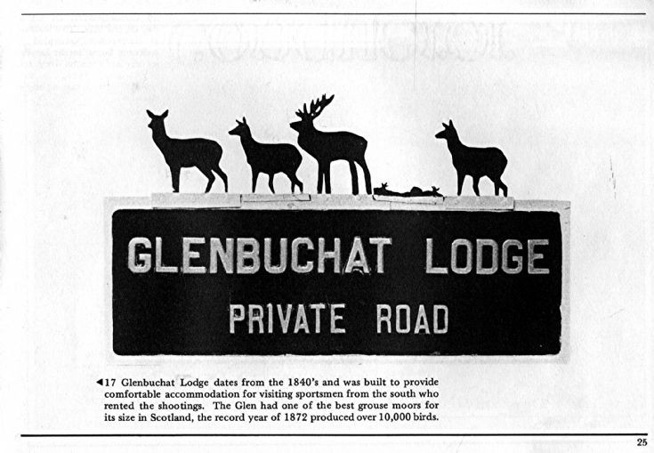 27 Glenbuchat Lodge Sign
