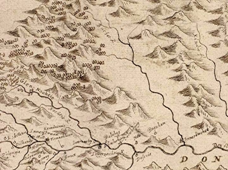 24 Robert Gordon map - detail